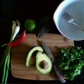 Gucamole Ingredients