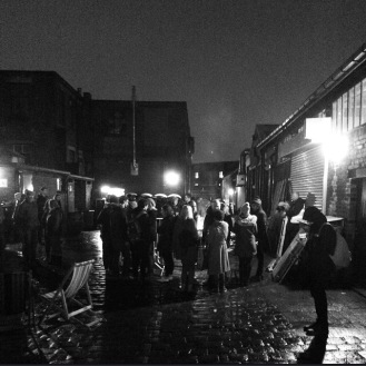 Rainy Evening - Peddler Night Market