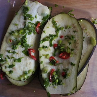 Marinated Aubergine
