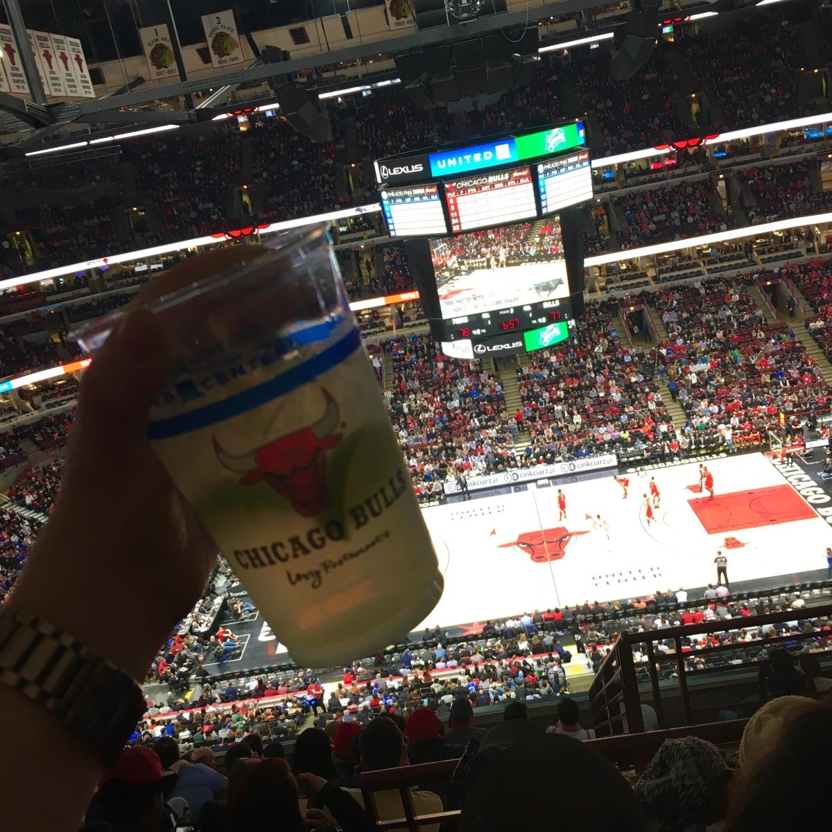 Margaritas at the Bulls