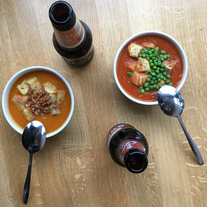 Soup at the Van Gogh Museum