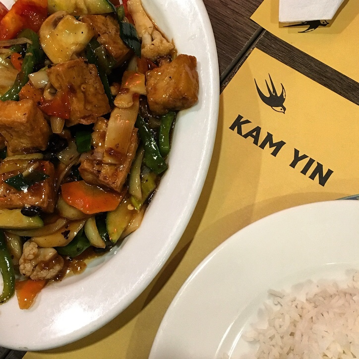 Tofu and Veg in Black Bean Sauce